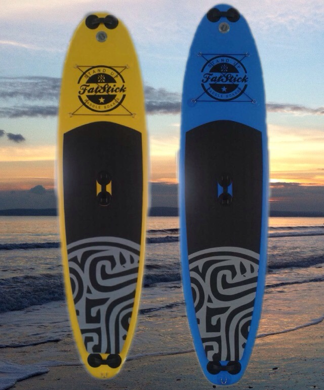 Fatstick inflatable stand up paddle boards 2016